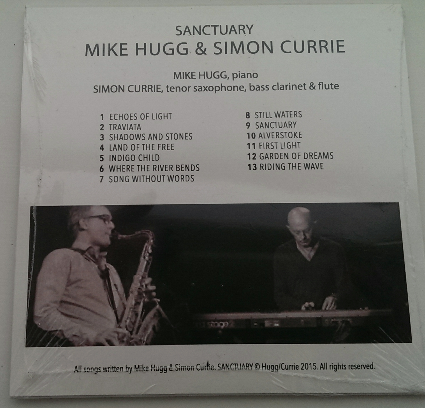 Mike Hugg & Simon Currie CD - Sanctuary