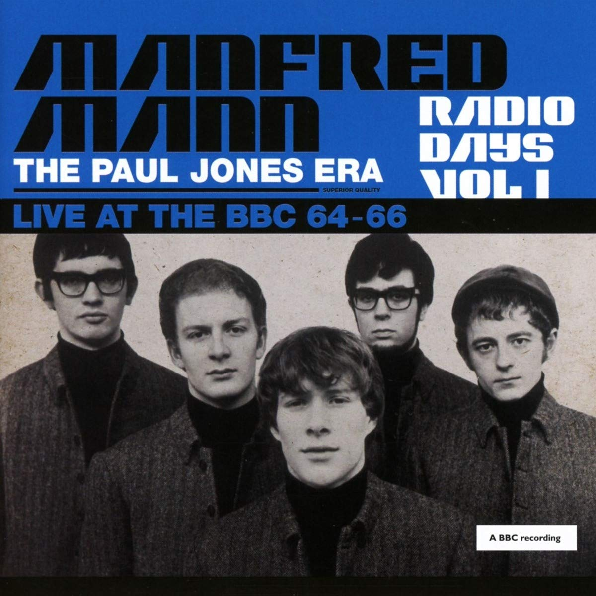 Manfred Mann Radio Days Vol 1 (The Paul Jones Era)