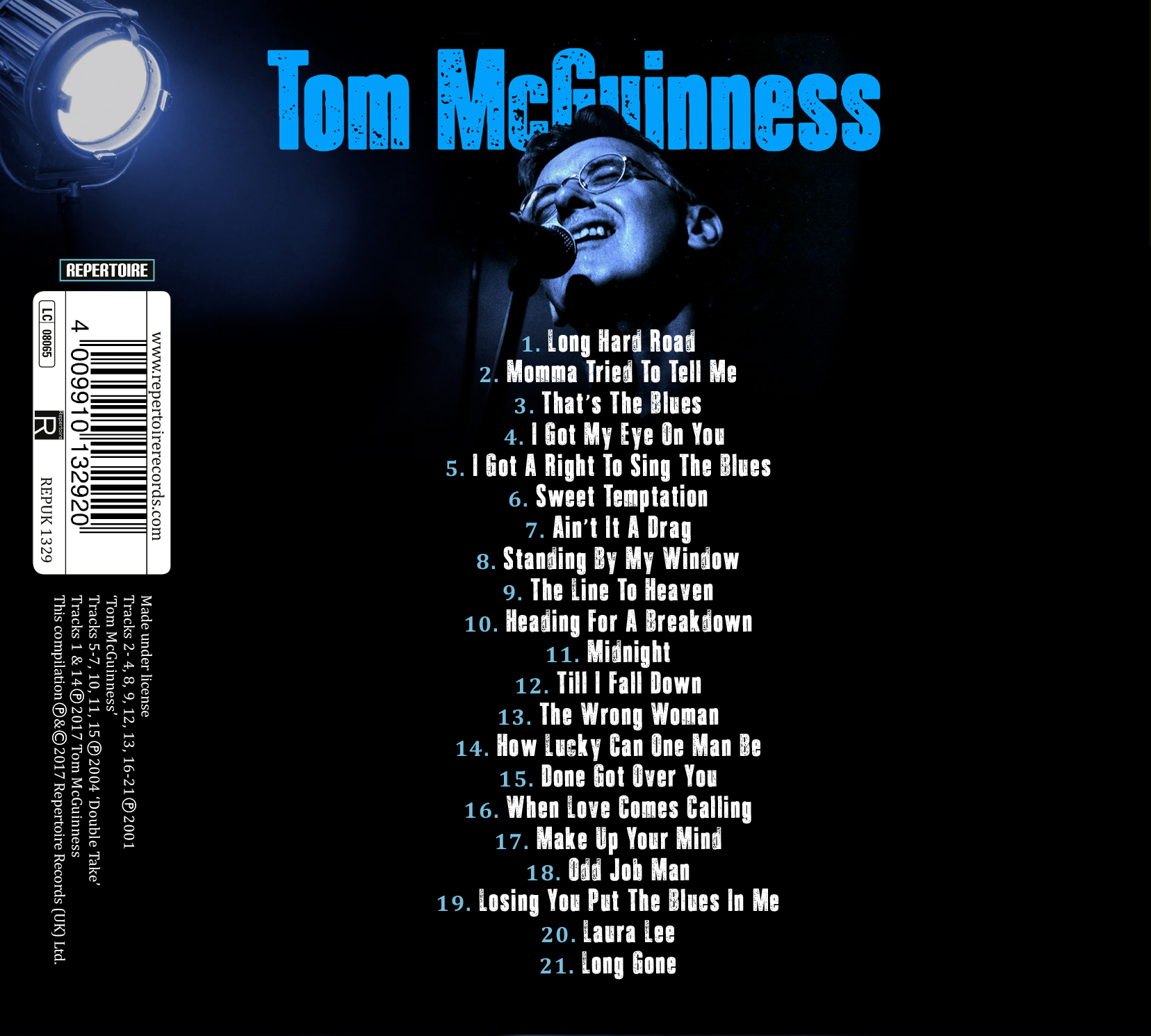 Tom McGuinness - Playing For TIme