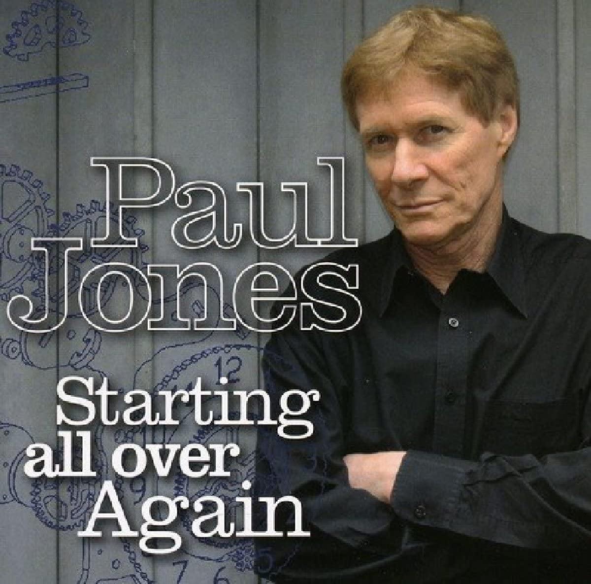 Paul Jones \'Starting all over Again